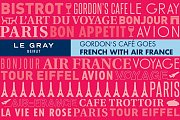 Gordon's Café Goes French With Air France