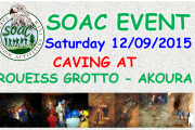 Caving in Roueiss Grotto - Akoura with SOAC