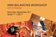 Arm Balancing Workshop with JC Rawady