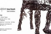 Solo exhibition by sculptor ISSA KAZAH