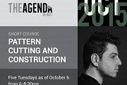 Pattern Cutting & Construction Workshop with Missak HajiAvedikian at The Agenda