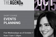 Short Course on Events Planning with Maria Boustany at The Agenda