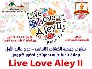 Live Love Aley II Kermesse - Back to the 8o's
