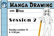 Manga Drawing With Bloo - Session #2