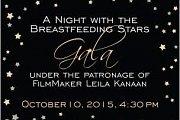 Breastfeeding Stars Gala Dinner