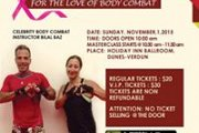Body Combat Masterclass during Lebanon Goes Pink for Breast Cancer Awareness