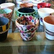 Flower pots decoration