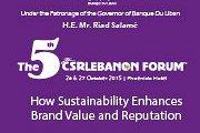 The 5th CSR LEBANON FORUM