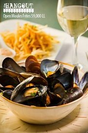 Moules & Frites Special Night at The Hangout Beirut