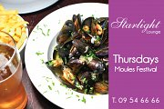 Moules Festival at Starlight Lounge