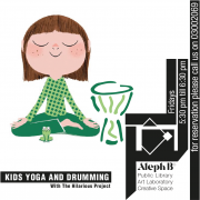 """Kids Yoga and Drumming with """"the hilarious project"""""""
