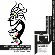 """West African Rhythms - Drumming classes with """"the hilarious project"""""""