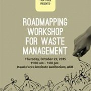Roadmapping Workshop for Waste Management