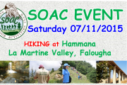 Hiking at Hammana – Lamartine Valley - Falougha with SOAC