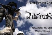 108 Sun Salutations - Free Yoga at Martyr's Square