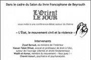 L'Etat, le mouvement civil et la violence
