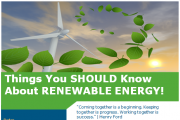 Things You Should Know About Renewable Energy!