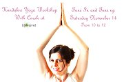 Kundalini Yoga Workshop with Carole - Tune In and Tune Up