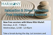 Relaxation & Stress Reduction Free Weekly Group Sessions