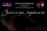 'Jamais en vain, Toujours en vin' by Rotaract Club of Beirut