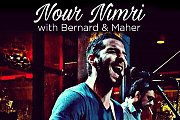 Nour Nimri with Bernard & Maher at Junkyard Beirut