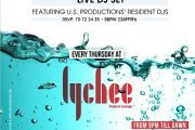 THIRSTY THURSDAYS at LYCHEE Beirut