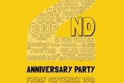 COOP D'ETAT 2ND ANNIVERSARY PARTY