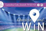 Love the game! Check-in & WIN