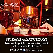 Fondue Nights at Starlight Lounge