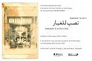 Exposition Alfred Tarazi à l'Institut Français du Liban