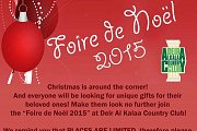 Foire de Noël 2015