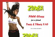 Zumba 1 for 2 at Houna Holistic Center