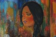 """Acrylic on Canvas"" master class with artist Jana  Hemade"