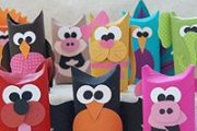 Crafts for Kids: Paper Tube Animals
