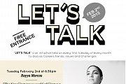 "Let's Talk ""The Non Glamorous World of Glamour"" Rayya Morcos"
