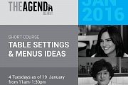 Table Setting & Menus Ideas with Maria Boustany and Chef Cynthia Bitar