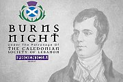 Burns Night at Eau De Vie under the patronage of the Caledonian Society