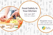 Food Safety in Your Kitchen Workshop