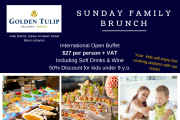 Family Sunday Brunch at Golden Tulip Galleria Hotel