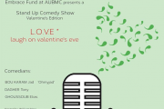 Laugh on Valentine's Eve: Stand Up Comedy Show, Valentine's Edition