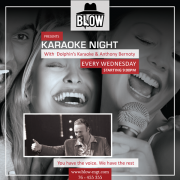 Karaoke Night at BLOW - Every Wednesday