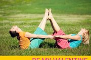 Be my Valentine: A Partner Yoga Playshop