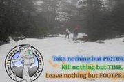 Snowshoeing in Ehden Reserve with the Footprints Nature Club
