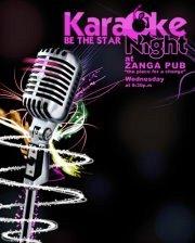 Karaoke Night at Zanga Pub every Wednesday