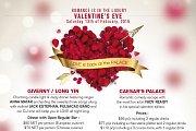 Valentine's at the Regency Palace Hotel