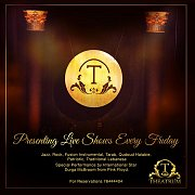 Live Shows at Theatrum every Friday
