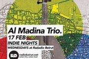 Al Madina Trio Live at Radio Beirut
