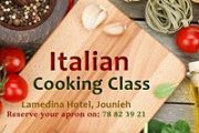 Gastronomic Italian Cooking Class including Lunch and Wine