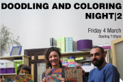 Doodling & Coloring Night