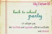 Back to school Party at Whisper Pub